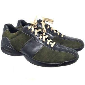 Cole Haan Women Shoes Sz Us 8M Green/Black Sneaker